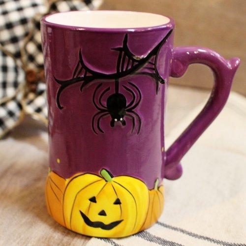 86c68e5c77b Spooky Purple Halloween Coffee Mug