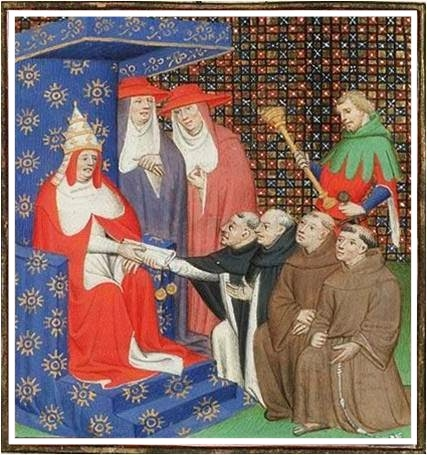 Pope Innocent IV Sends Dominicans and Franciscans to the Mongols