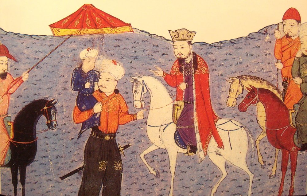 Arghun Khan of the Ilkhanate