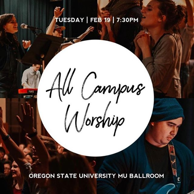 Yoooo..we highly recommend that you prioritize coming to this event today. It's the rare annual opportunity to fellowship and worship in the same room as many of the people in Corvallis who have also been transformed by the truth of the Word and serve Jesus Christ.