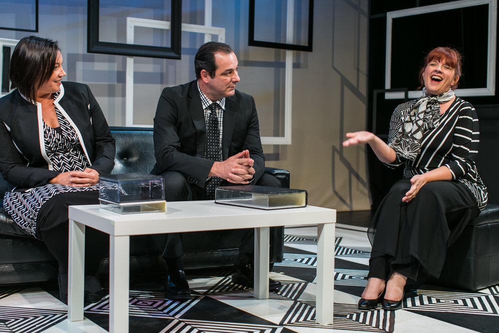 Kristianne Kurner, Manny Fernandes, Melissa Fernandes