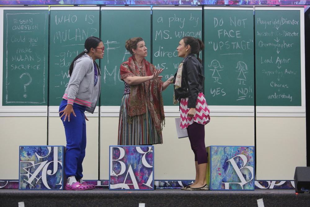 Dana Wing Lau, Maggie Carney, Kyla Garcia