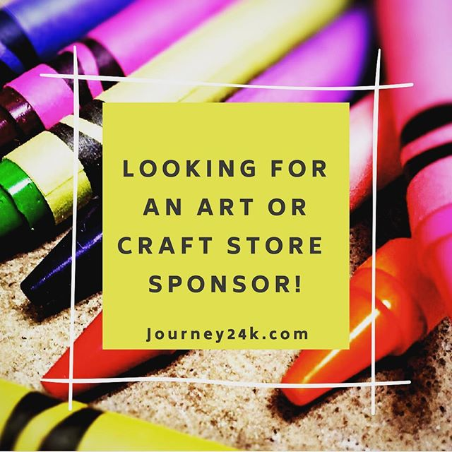 ✨We've got an amazing #crafting event coming up and would love to find a sponsor for the activity!! You'll have to wait and see what it is, but we have some GOLDEN parents 🎗helping us out to make it happen! The coveted craft will be on sale at #journey24k on September 21st!! #fundraising #crowdfunding #endkidscancer #candlelighters #diy