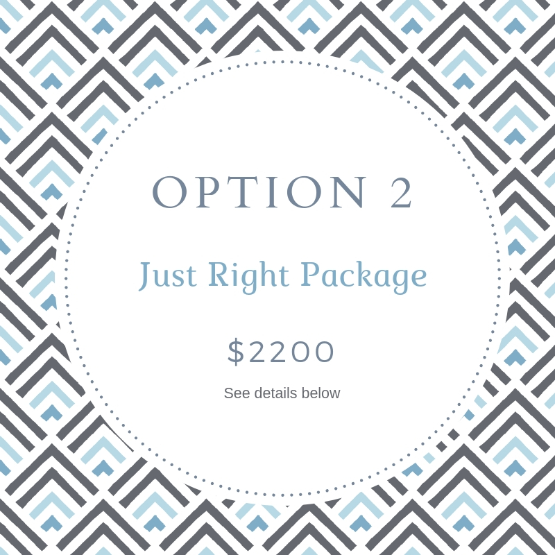 Just Right Squarespace Package by Deb Mantel Design