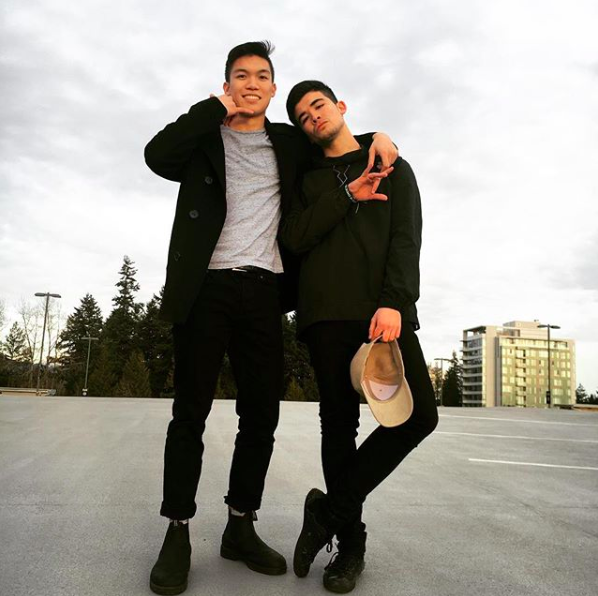 Elliot (right) and Nathan are fourth year members of UBC Fraternities.
