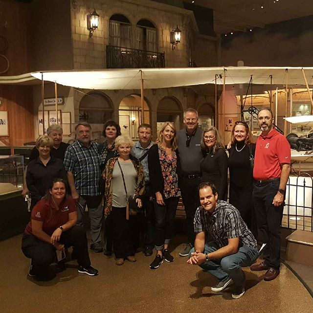 Amazing to visit the Smithsonian and get a private tour. We were able to see the original Wright Flyer and hear stories about uncles Orv and Will from grand Niece Amanda Wright-Lane.  The Collier trophy was cool. #TFAFallColors #cirruslife #Smithsonian #wrightflyer #CirrusAircraft