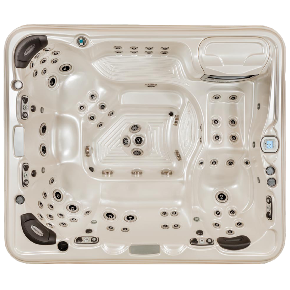 QUICK SPECS    DIMENSIONS: 108 x 91 x 38 in.  CAPACITY: 9 adults