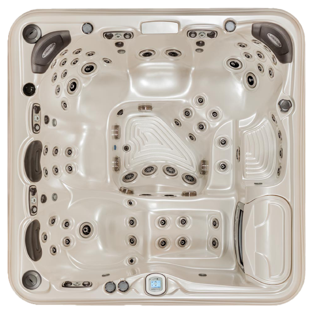 QUICK SPECS    DIMENSIONS: 91 x 91 x 38 in.  CAPACITY: 6 adults