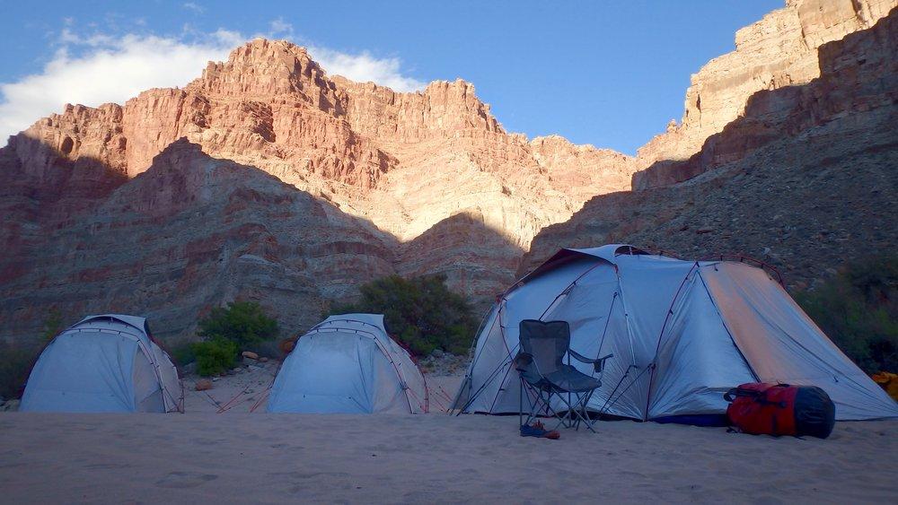 Desert Canyon Camping
