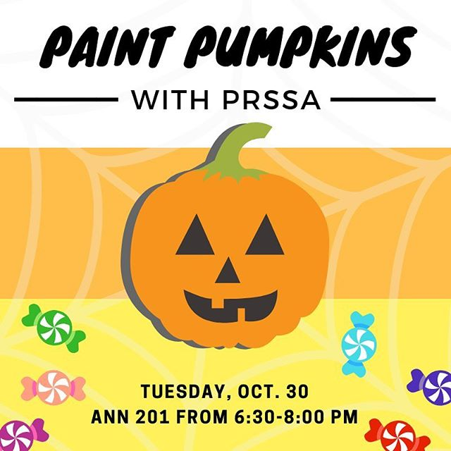 Calling all PRSSA members! We're having our first mixer of the semester so don't forget to join us on Tuesday evening 🎃Let's get spoopy !