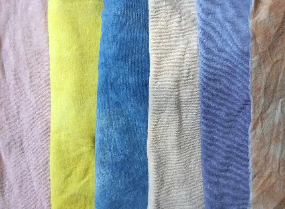 botanical color blend samples