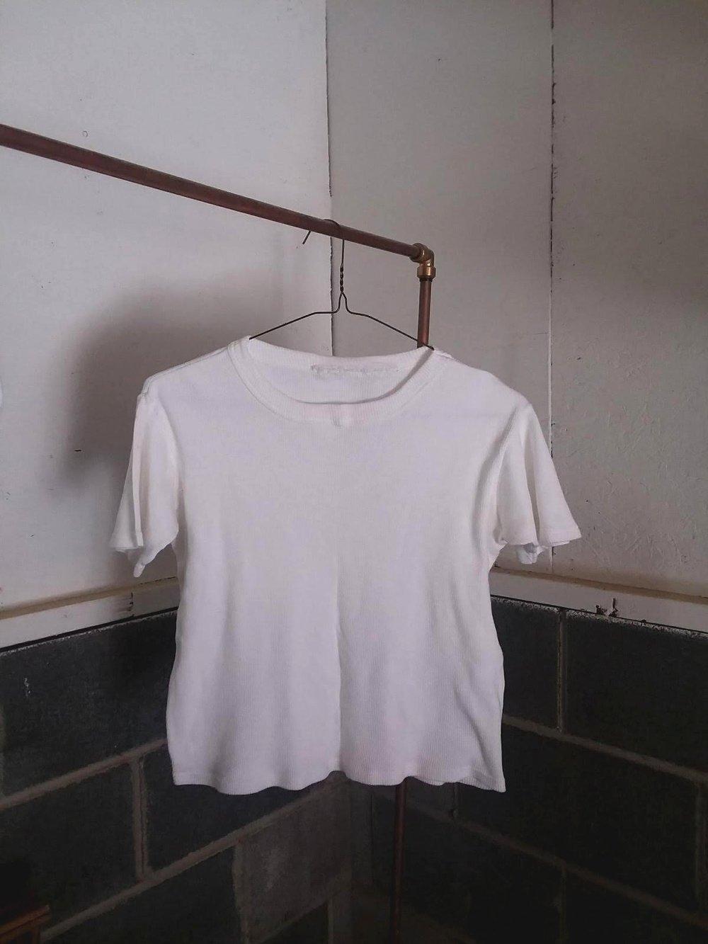 cotton tee pre mordant & dye