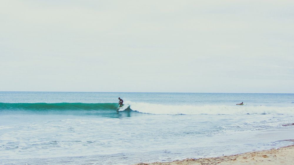 We welcome all surfers, all levels, and all bodies with open arms and lots of high fives. -