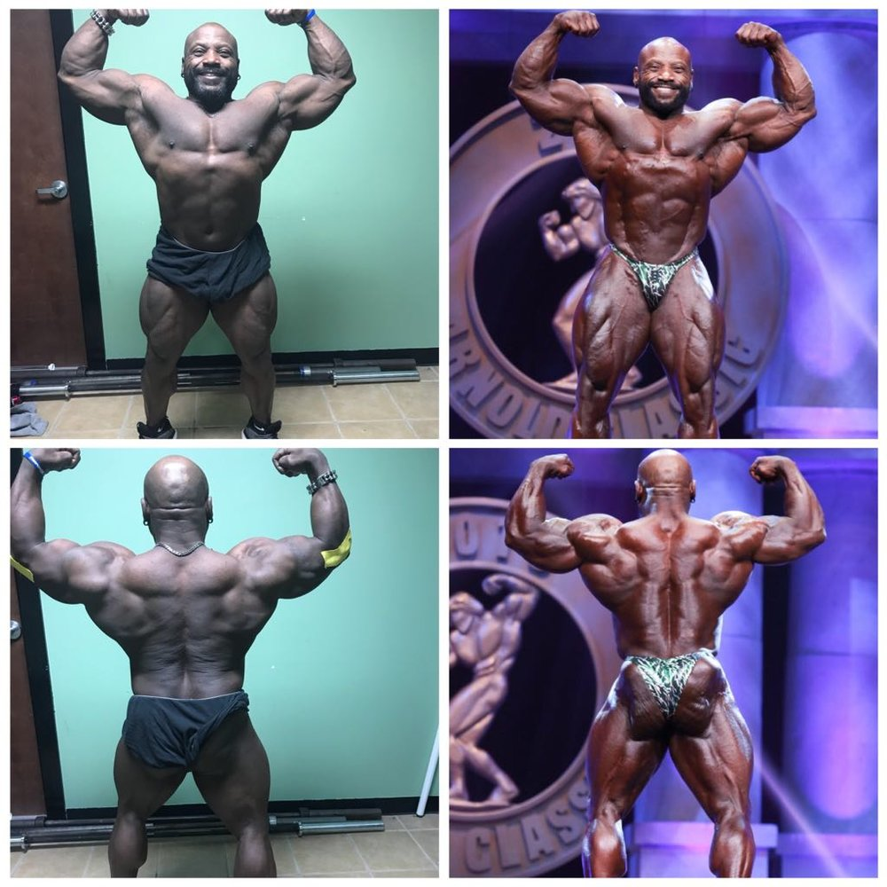 Charles Dixon- 12 week transformation in preparation for the 2018 Arnold Sports Festival, 2nd Place in competition division.