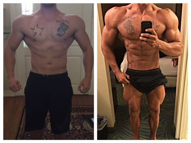 Jason Nettles - 28 week transformation in preparation for the 2017 Mile High Show in Colorado, 1st Place overall in Classic Physique.