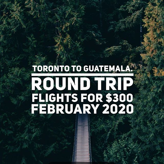 Pyramid ruins. Hot springs. Lakes. Volcano, and so much more to experience in Guatemala. Don't miss out on this deal.  DM or click the link in bio if you need help planning your next trip. 🛫