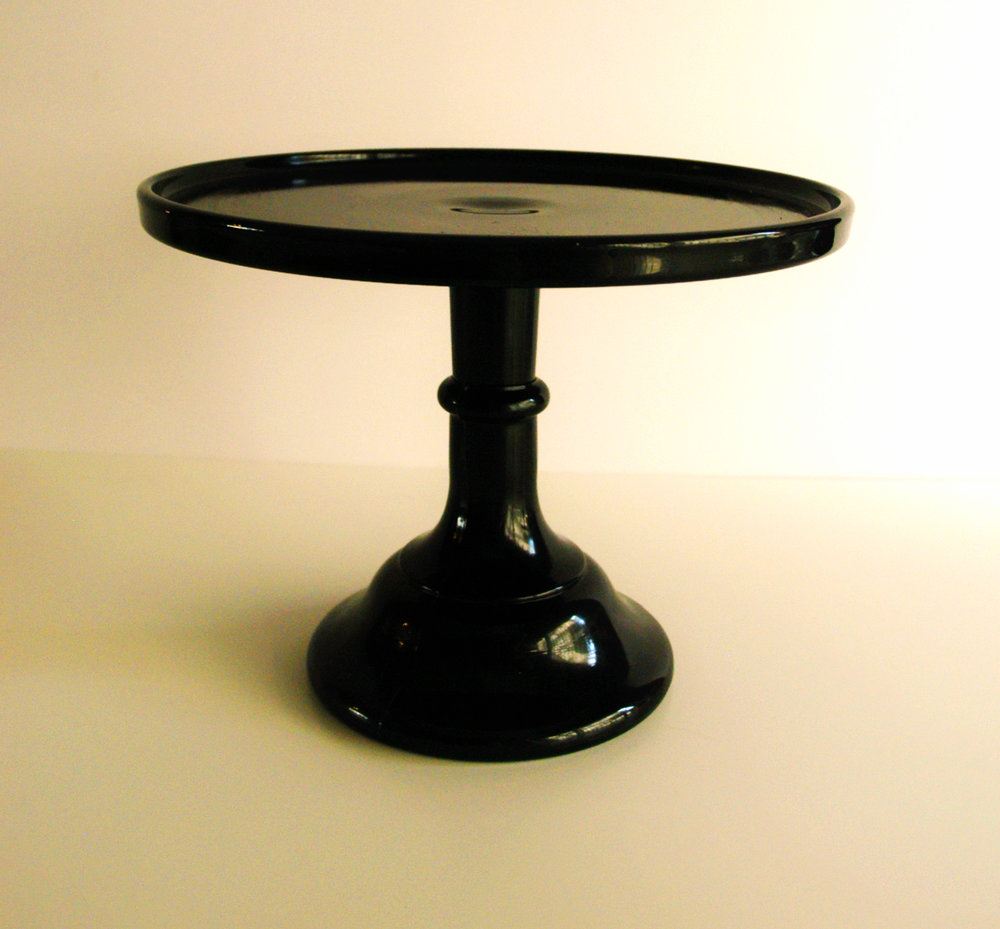 "Jet Black- 9"" Diameter x 7"" High"