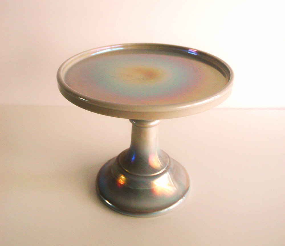 "Mini Gray- 6"" Diameter x 5 1/2"" High"