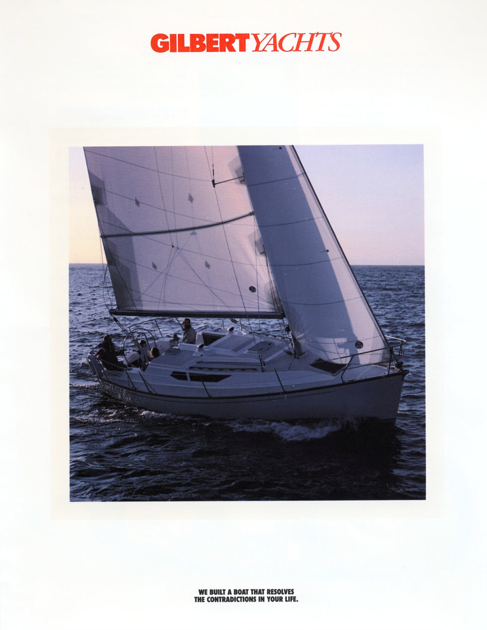 Gilbert Yachts Marketing [yes, that was a family company]