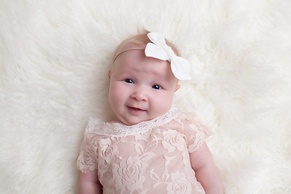 Emaline::milestone (3 months) Photo By Jessie