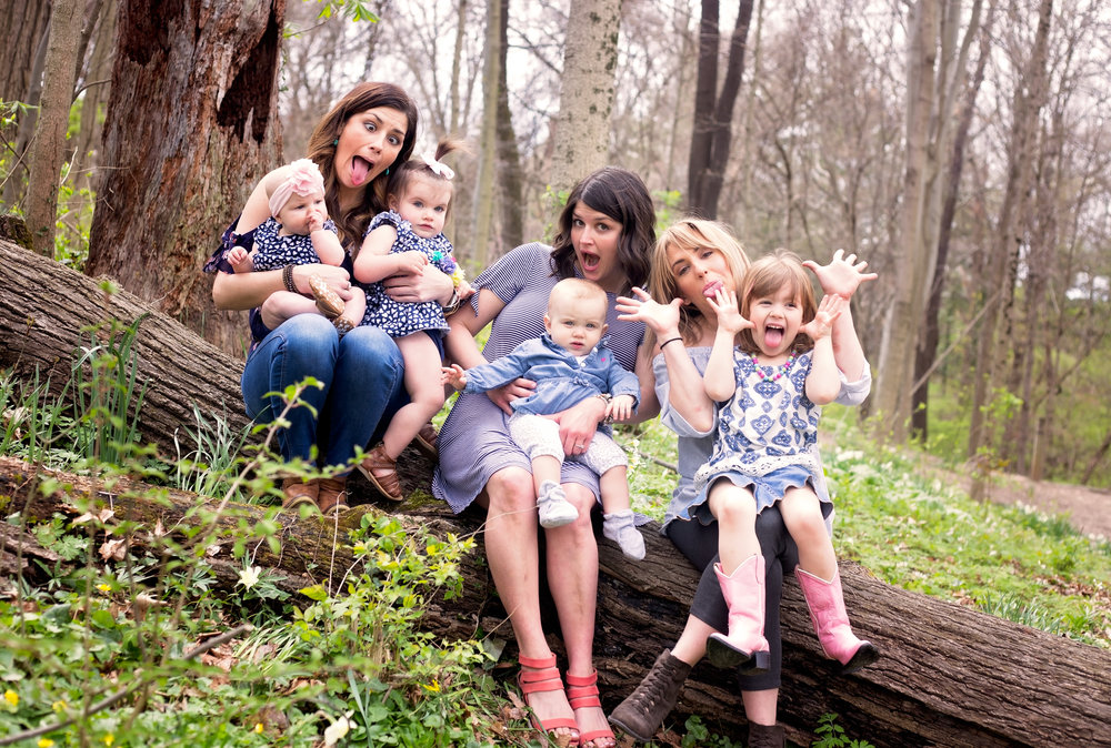 Family fun mini session photo by mel
