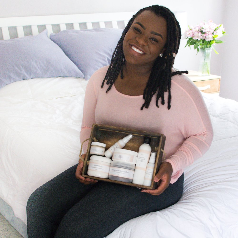 Meet Kathiana, the founder of self-care brand @ essentials4self   Location: Providence, Rhode Island