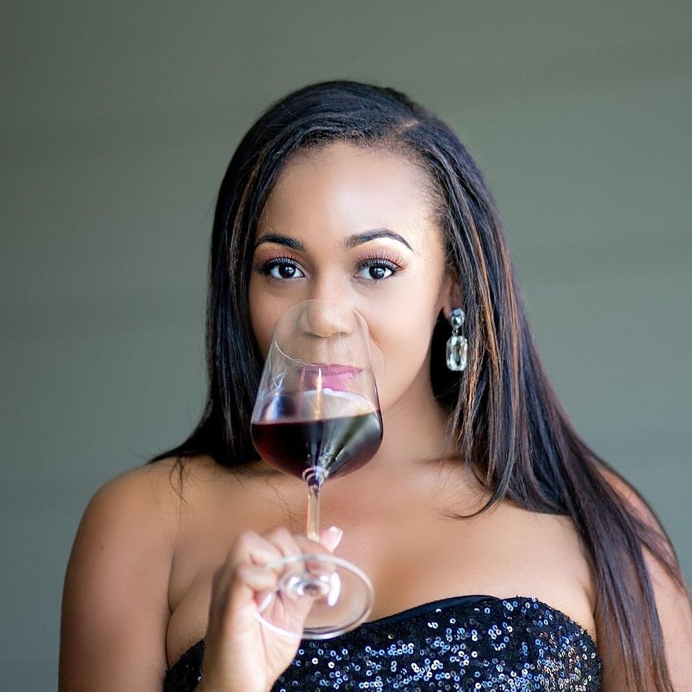 Meet Racquel, wine tasting creator behind  @thewinerac   Location: Atlanta, Georgia