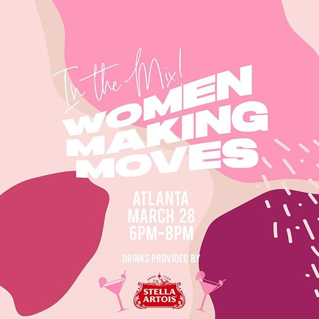 Yes & we're still celebrating Women's Month join us Thursday, March 28th as we connect, network, + celebrate amongst other women making moves around the city! Enjoy complimentary drinks by @stellaartois 🥂   RSVP at the Link in our bio! #morethanbrunch