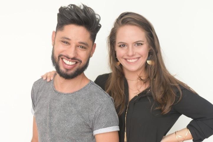 Ana Magalhães e Felipe Menezes, arquitetos do Estúdio Samambaia.