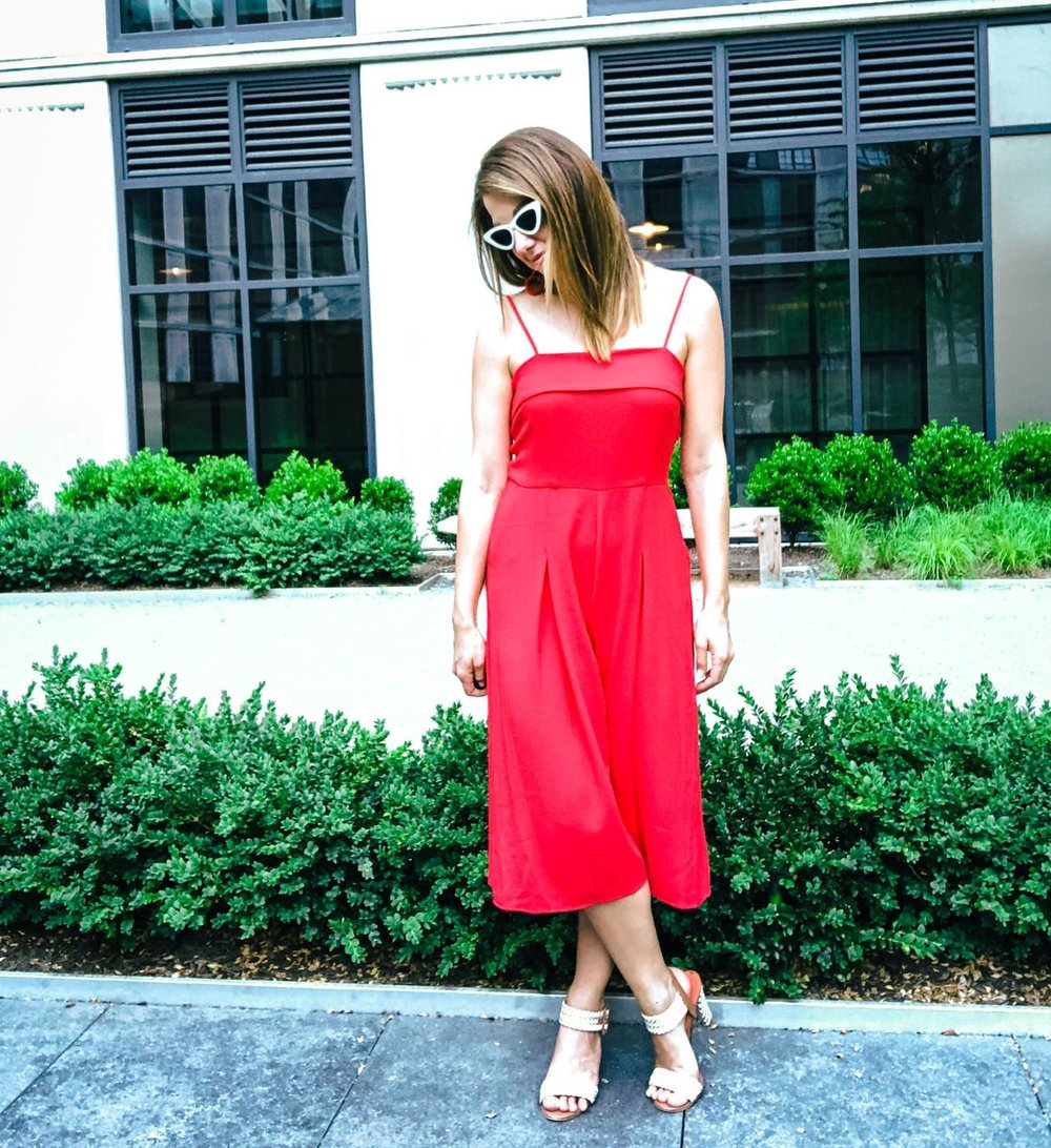 1cf81282446 Obsessed With   A Red Jumpsuit — Jess Obsessed