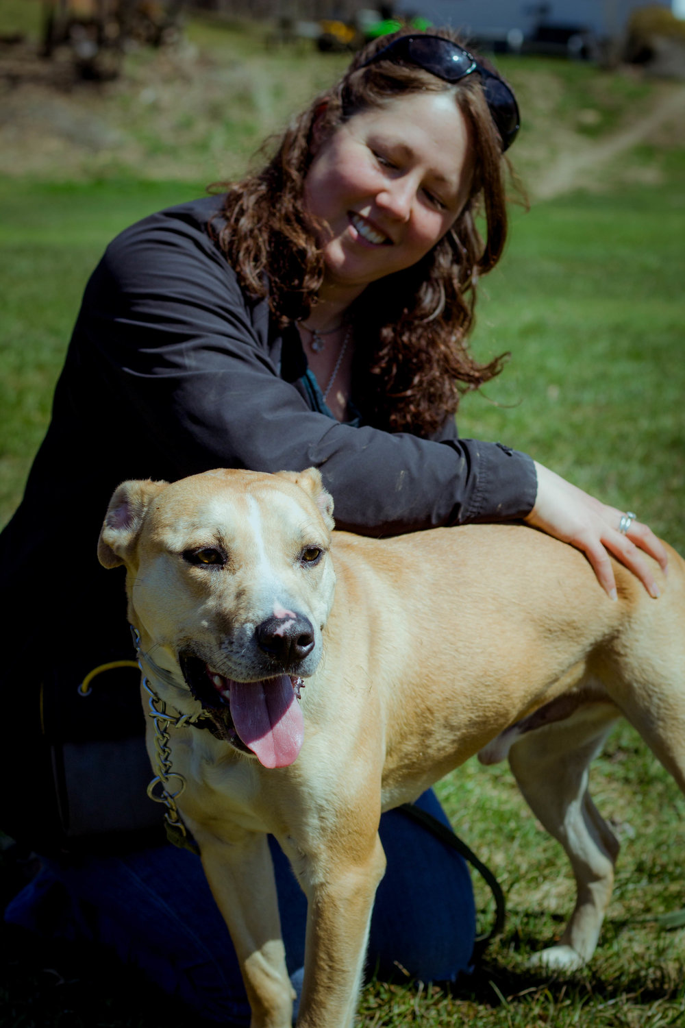 founder of rising canine dog training & Co-Founder of Canine Stability center - heather mach