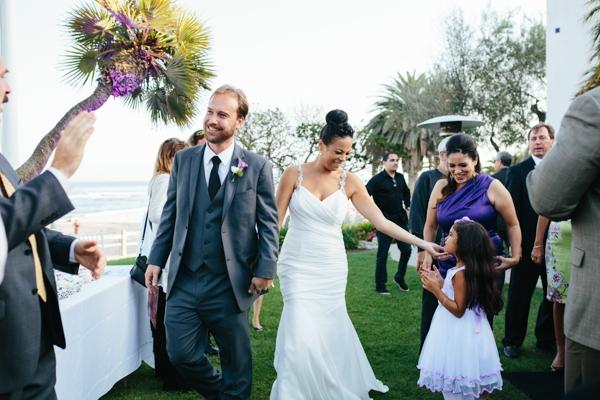 Gorgeous outdoor Malibu wedding