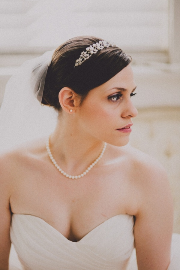Bridal beauty wedding day
