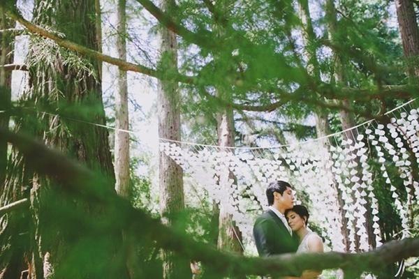 Beautiful wedding ceremony photo