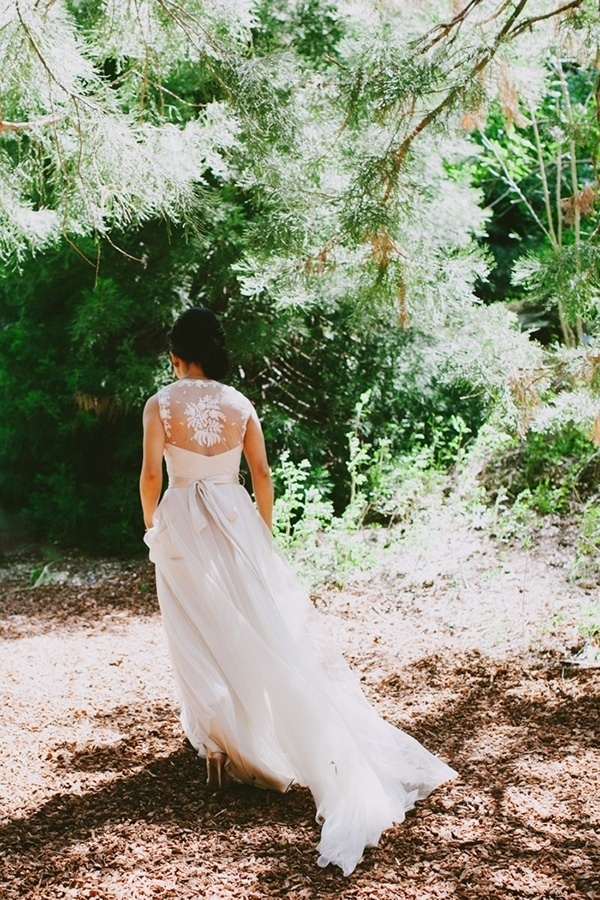 Gorgeous BHLDN onyx wedding dress