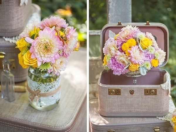 Pretty spring wedding bouquet ideas