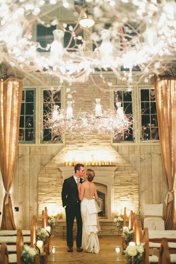 A Glam White And Gold Winter Wedding By Onelove Photography