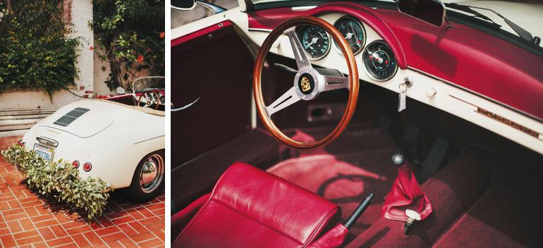 Getaway car idea for a wedding