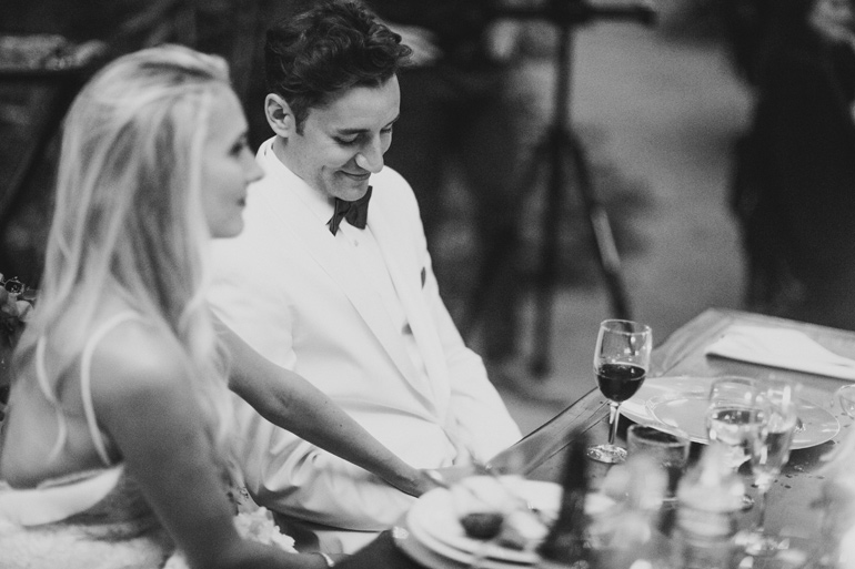Bel Air private estate wedding reception