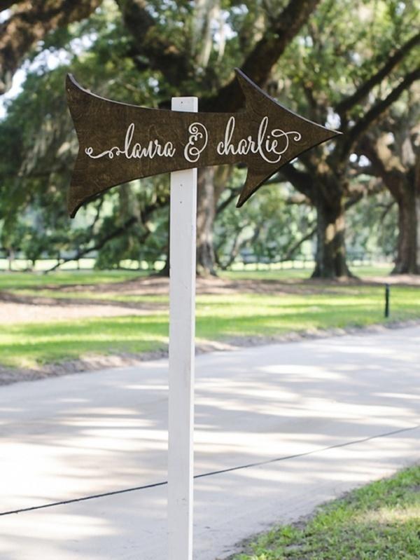 Wedding sign idea