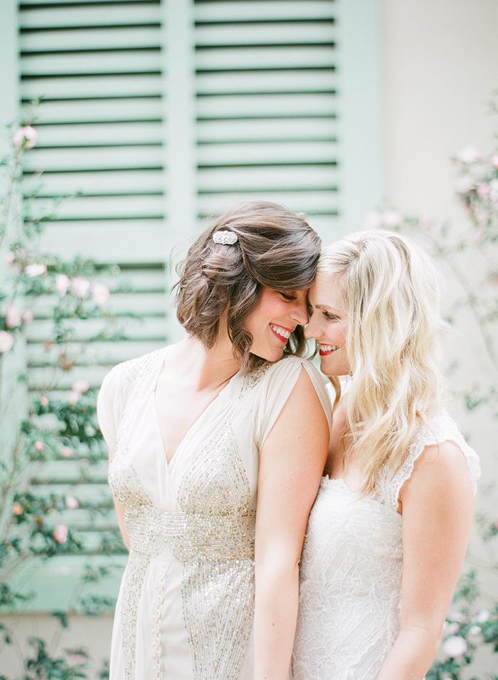 Sweet vintage brides
