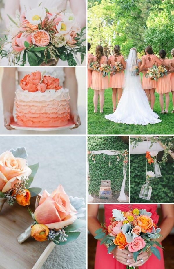 How To Pick Wedding Colors 4 Hot Color Palettes For Spring
