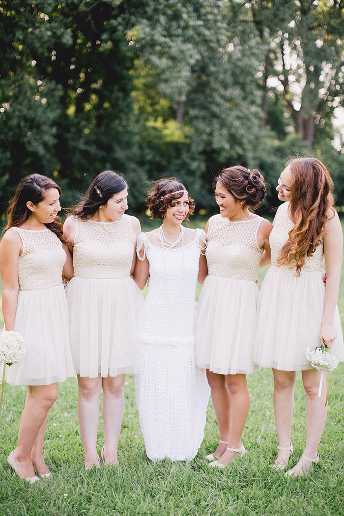 Sweet vintage bridesmaid dresses