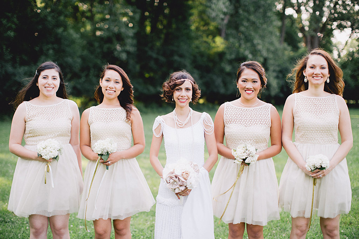 Beautiful vintage bridesmaid dresses