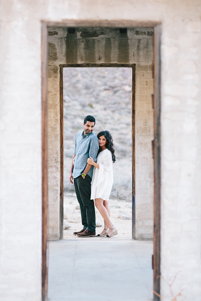 Beautiful perspective for the engagement photo!