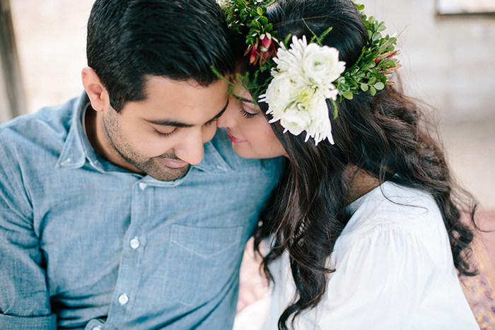 Engagement photos — you'll need a flower crown, trust us!