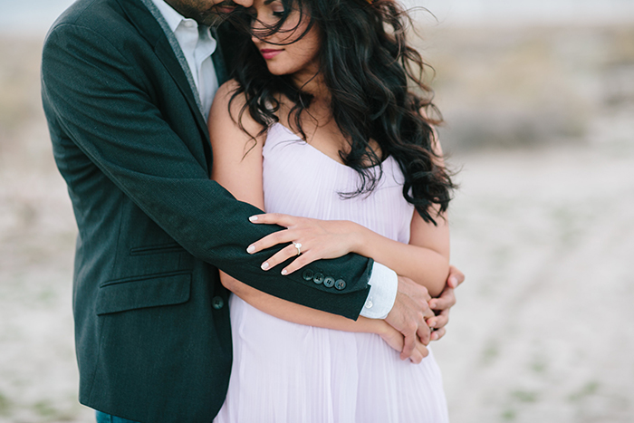beautiful engagement photos in the desert