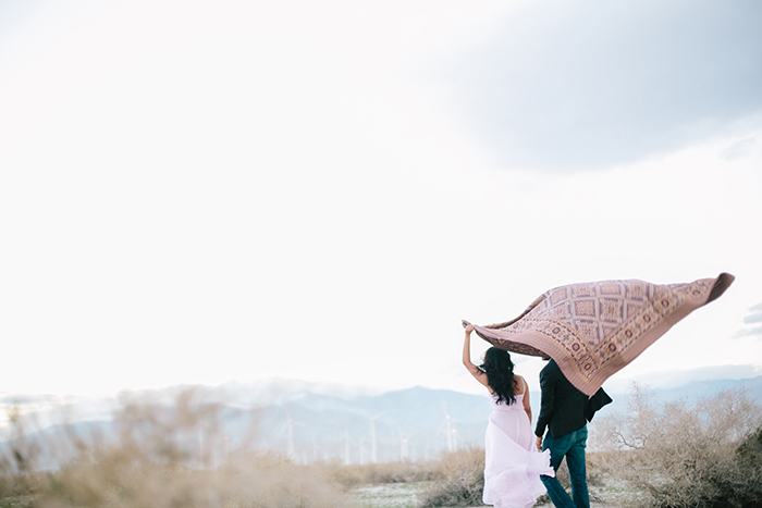 palm springs engagement by heather kincaid