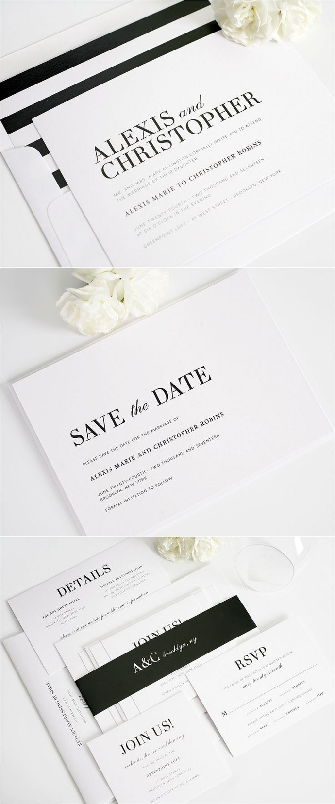 Photo by  Shine Wedding Invitations