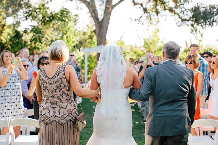 Beautiful mantilla veil for the bride